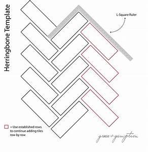 elegant installing herringbone tile pattern kezcreativecom With floor installation