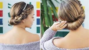 Easy Updo For Short Hair Luxy Hair YouTube