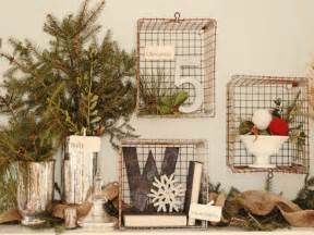 Small Primitive Kitchen Ideas by Country Christmas Style Rustic Christmas Decorations
