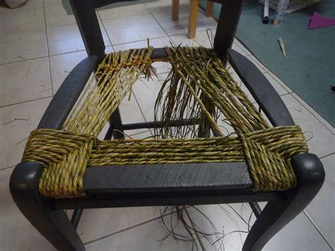 comment rempailler une chaise rempaillage de la veillée tandem