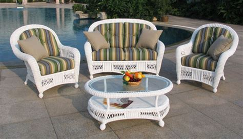 white wicker patio furniture white resin wicker patio furniture home outdoor