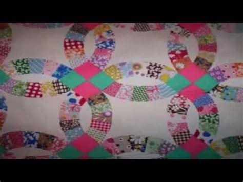 beginners quilt block patterns free wedding ring quilt bedspreads youtube