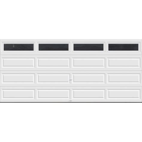 White Garage Doors by Clopay Classic Collection 16 Ft X 7 Ft 18 4 R Value