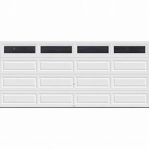 clopay classic collection 16 ft x 7 ft 184 r value With 18 ft garage door panels