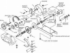 Manco Dingo 285 And 286 Go Kart Parts