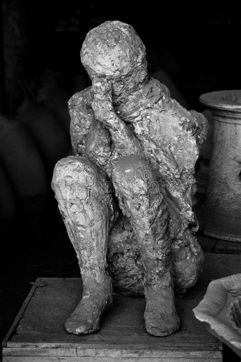 mann tot  pompeji stockbild bild von opfer roemisch