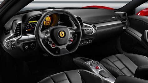 interior space ferrari  series sports car wallpaper