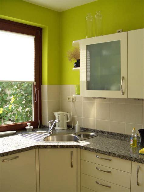 Wandgestaltung Küche Farbe by Farbe In Der K 252 Che So Wird S Wohnlich