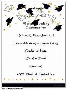 Homemade Graduation Party Invitation, Printable Homemade ...