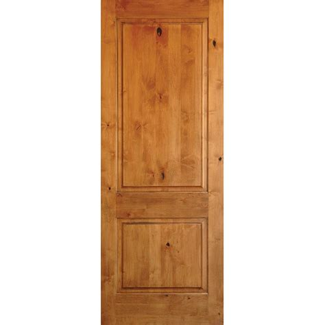 home depot interior door krosswood doors 30 in x 96 in rustic knotty alder 2