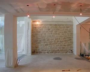 renovation mur renovation pro With renover mur en pierre interieur