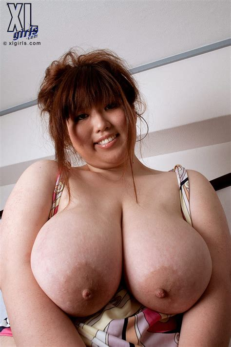 Huge Tits Asian Riria Misaki Flaunts Her Funbags 1 Of 1