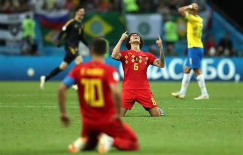 review   brazil  belgium game