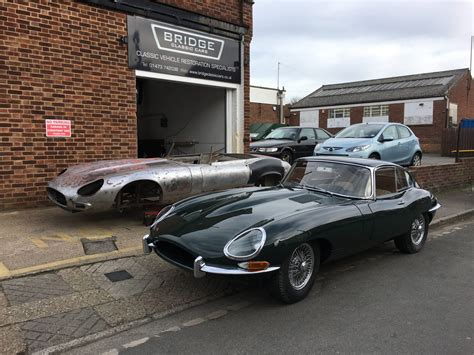 Our Jaguar E-type Roadster Is Ready For Paint Preparation