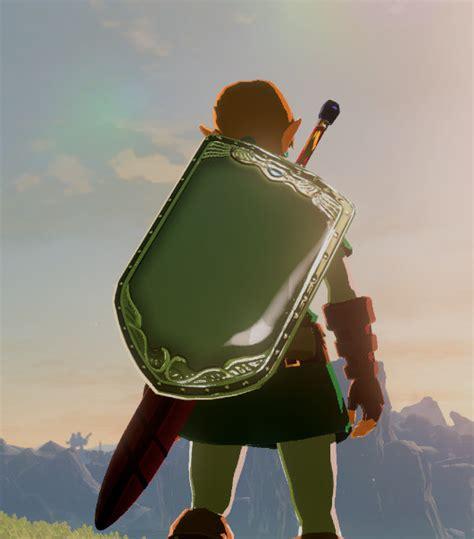 links awakening mirror shield  legend  zelda