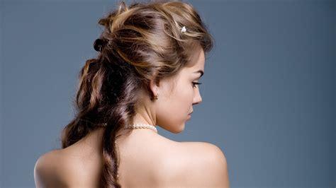 gorgeous hairstyle   bride