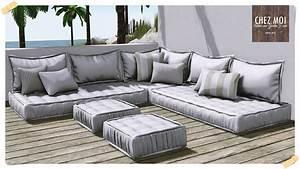 Santorini Lounge Couch CHEZ MOI Chez Moi