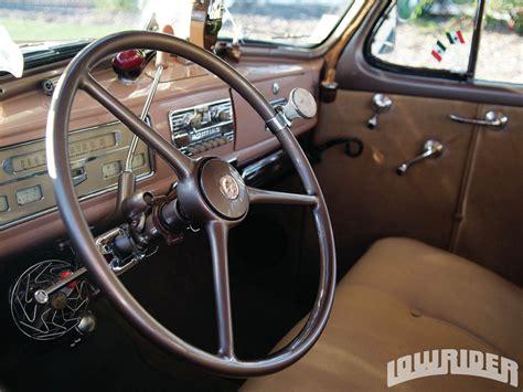 1939 Pontiac Interior