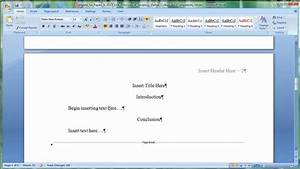Apa research paper template word 2010 6 popular for Apa research paper template word 2010