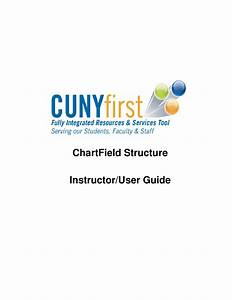 Cunyfirst Chart Of Accounts Structure Training Manual