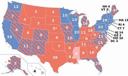Trump Election Clinton Polls General Usa Svg