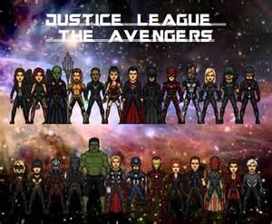 Avengers V Justice League