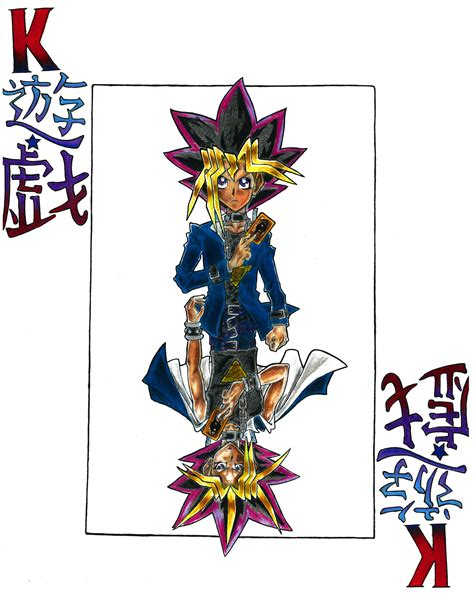 Yugiatem Playing Card Art Yugioh