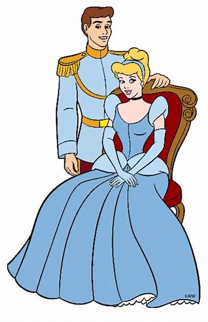 Cinderella Prince Charming Clipart Clip Disney Cliparts