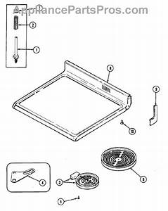 Parts For Maytag Cre9600bcl  Top Assembly Parts