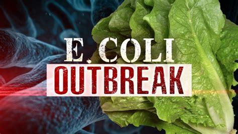 E. Coli Outbreak Tied To Chopped Romaine Lettuce