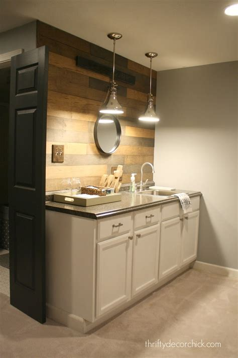 Basement Kitchen Without Upper Cabinets Kitchen Cabinet
