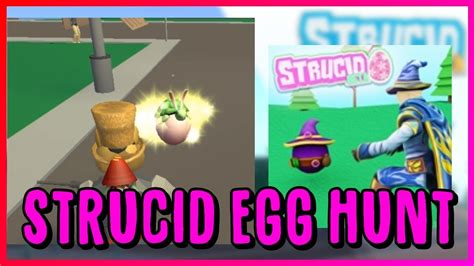 strucid egg hunt tutorial roblox youtube