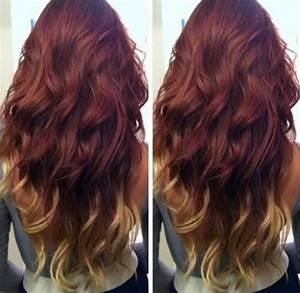 Ombré Hair Marron Caramel : dark auburn to caramel ombre google search hair ~ Farleysfitness.com Idées de Décoration
