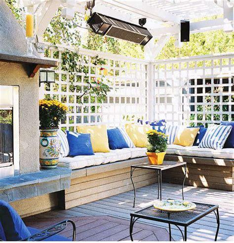 cuisine jardin couleur terrasse extérieur idée déco terrasse extérieur