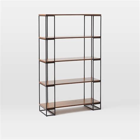 Grid Frame Bookcase  Tall  West Elm