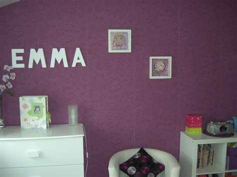 chambre grise et prune chambre prune photo 1 1 3505833