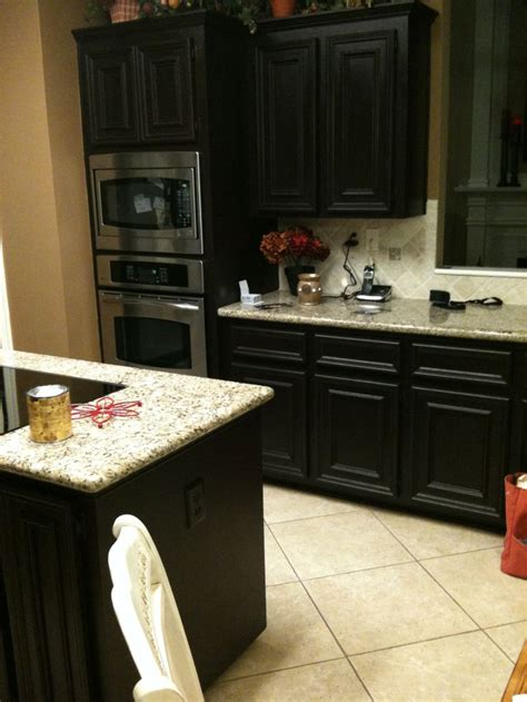 Staining Kitchen Cupboards by Diy Gel Stain Kitchen Cabinets Black With The Faux
