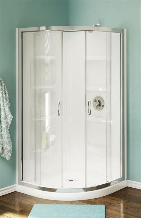 Shower Stall Enclosures by Best 25 Corner Shower Stalls Ideas On Small