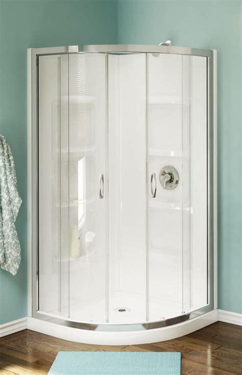 Walk In Corner Shower Units by Best 25 Corner Shower Stalls Ideas On Small