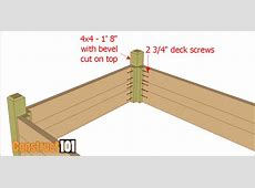 Raised Garden Bed Plans With Bench Construct101