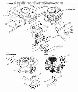 Parts For Yard Machines 13an607h352    2001  Engine