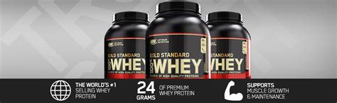 optimum nutrition  whey gold standard    lb