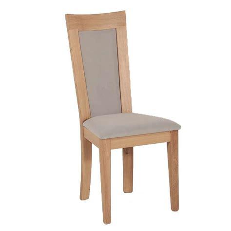 chaises tissus chaise en bois et tissu rembourré crocus 4 pieds