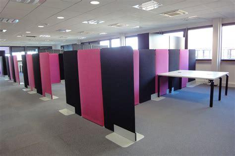 cloison de bureau acoustique cloison acoustique buzzi screen bm bureau fr mobilier