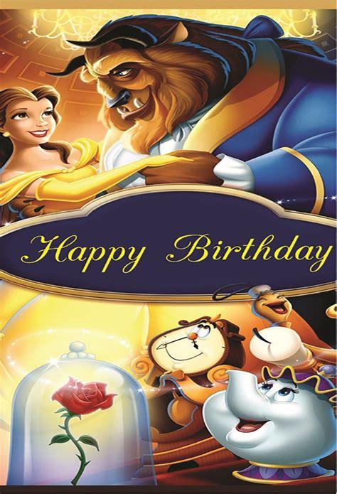 xft happy birthday belle princess beauty beast dance