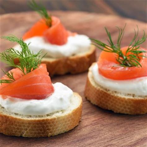 canape appetizer appetizers smoked salmon canapes recipe recipe4living