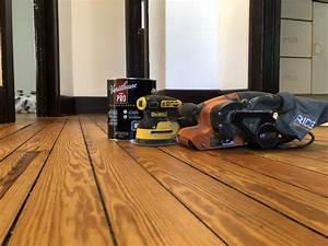 How To Refinish Hardwood Floors  Step