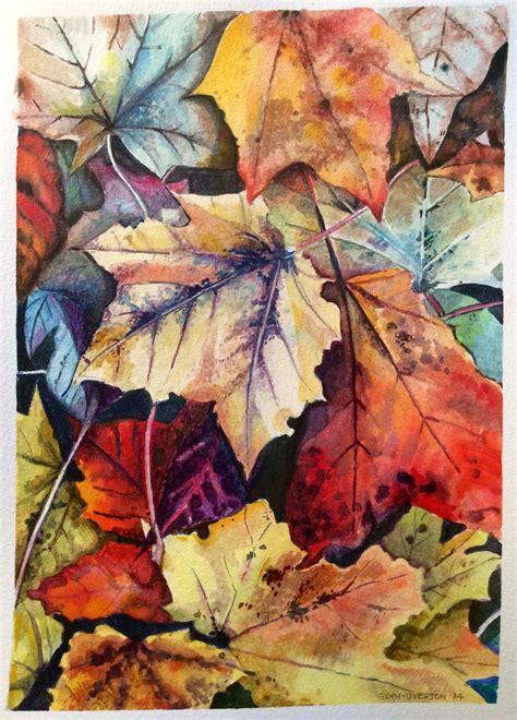 autumn patterns glyn overton watercolour create