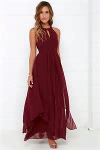 maxi bridesmaid dresses beautiful wine maxi dress homecoming dress prom dress 88 00