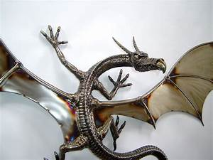Wall mounted dragon close up by verymetal on deviantart